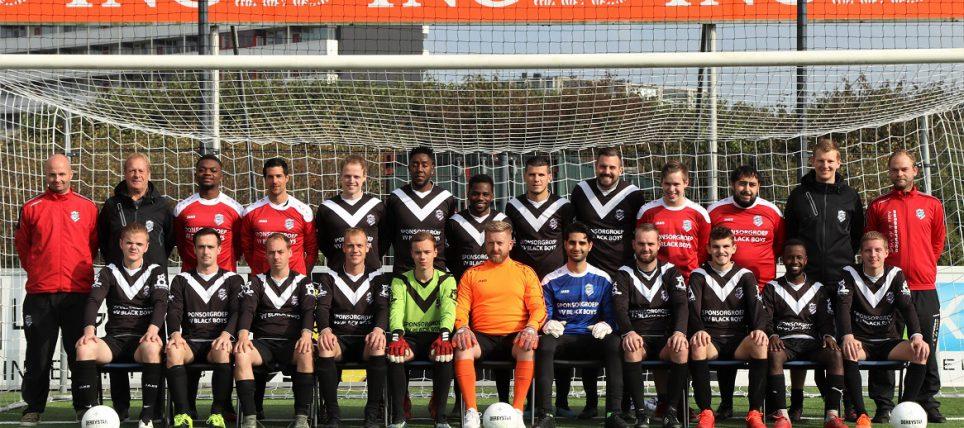 Foto's VV Black Boys – VV Langweer 10-10-2021